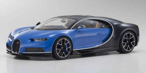 Kyosho Bugatti Chiron 1/18 French Racing Blue