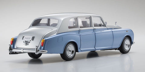 Kyosho Rolls Royce Phantom VI 1/18 Light Blue/Silver