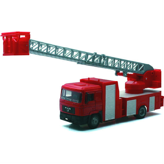 Man F2000 Fire Ladder Truck New-Ray 1:43 - Hobbytoys