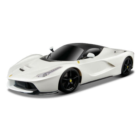 Bburago LaFerrari 1/18 White - Hobbytoys