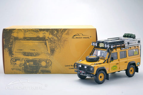 Almost Real Land Rover Defence Camel Trophy 1/18