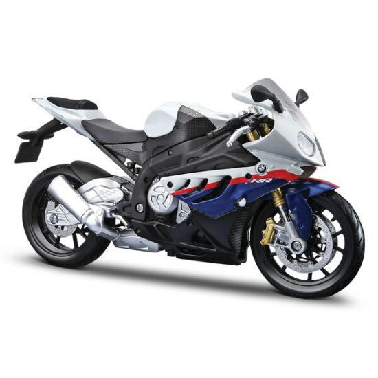 Maisto BMW S1000RR 1/18 White - Hobbytoys