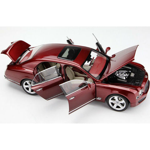 Kyosho 2014 Bentley Mulsanne Speed 1/18 Red - Hobbytoys - 2