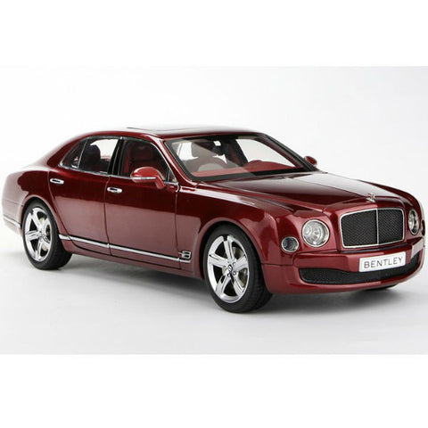 Kyosho 2014 Bentley Mulsanne Speed 1/18 Red - Hobbytoys - 1