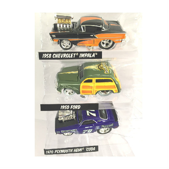 Maisto Muscle Machines 1/64 Scale Die-cast Metal Cars Collection 1 - Hobbytoys