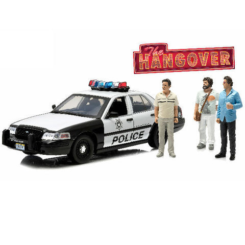 Greenlight 2000 The Hangover (2009) Ford Crown Victoria Police 1/18 - Hobbytoys - 1