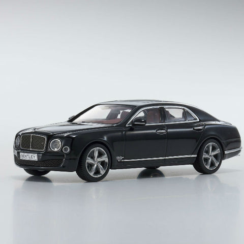 Kyosho Bentley Mulsanne Speed 1/43 Black - Hobbytoys