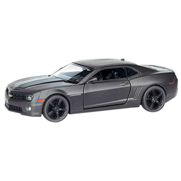 RMZ City Chevrolet Camaro Matte Black - Hobbytoys