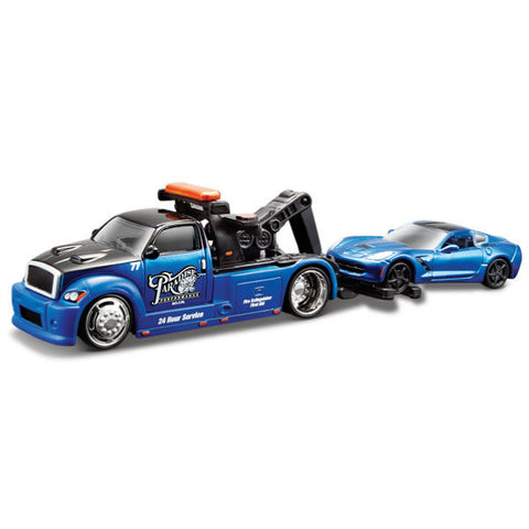 Maisto Elite Transport Wrecker with 2014 Corvette Stingray Coupe 1/64