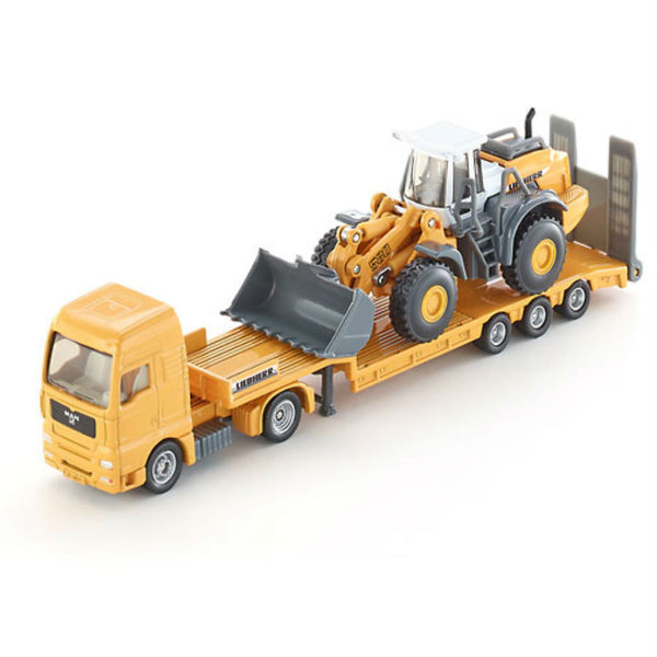 Siku Low Loader With Four Wheel Loader - Hobbytoys - 1