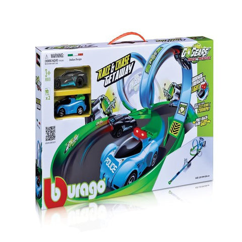 Bburago GoGears Race and Chase Getaway Trackset - Hobbytoys - 2