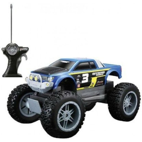 Maisto R/C Rock Crawler Jr Blue - Hobbytoys