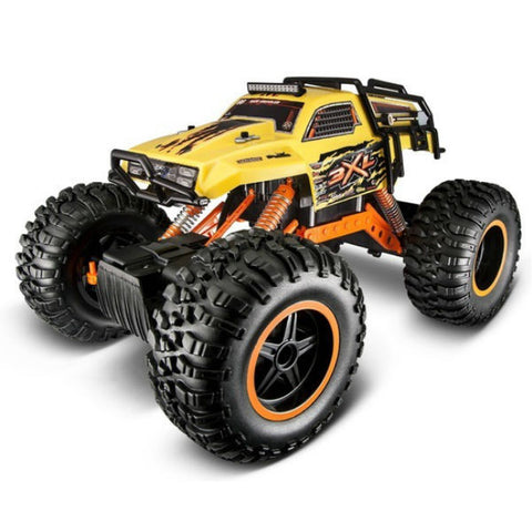 Maisto R/C Rock Crawler 3XL Yellow - Hobbytoys - 2