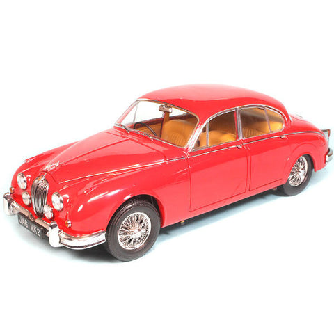 Paragon Models 1962 Jaguar MK II 3.8 Carmen Red 1/18 - Hobbytoys