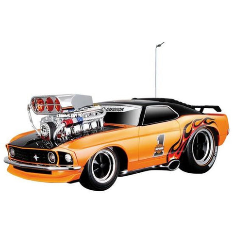 Maisto R/C Muscle Machines H-D 1969 Ford Mustang Boss 302 RC Car - Hobbytoys - 1