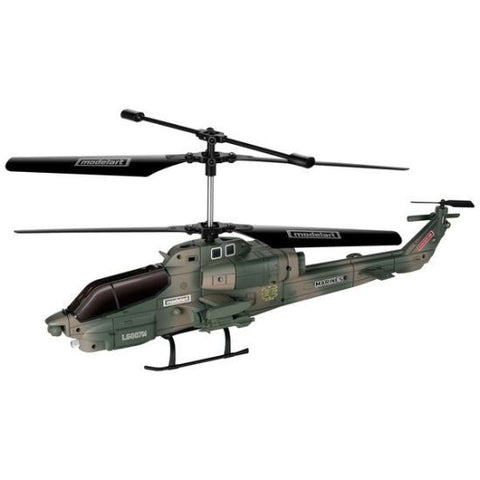 Modelart 3.5 Channel Outdoor Military RC Helicopter - Hobbytoys - 1