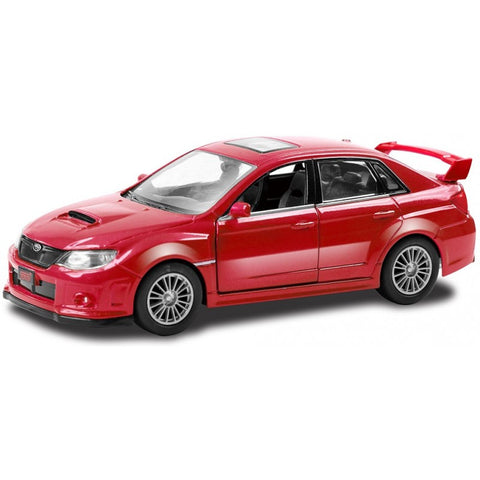 RMZ City Subaru WRX STI Red - Hobbytoys - 1