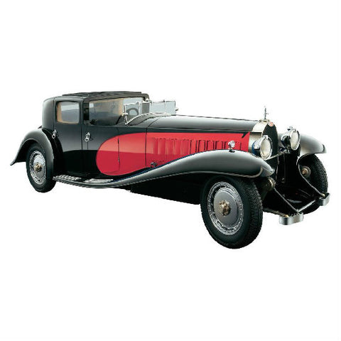 Bauer Bugatti Royale Coupe de Ville Rot 1930 1:18 Die-cast Car Model - Hobbytoys - 1