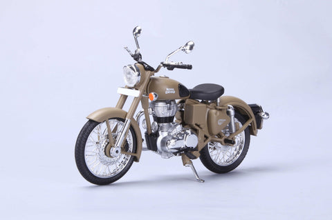 Royal Enfield Classic 500 Desert Storm 1/12 scale by Maisto