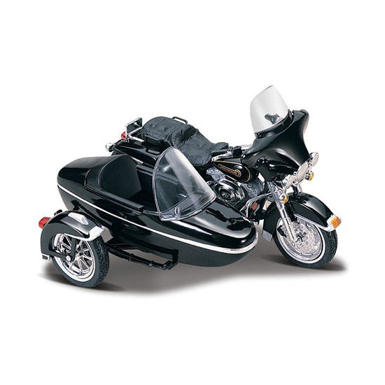 Battery Operated Ride On Toys >> Maisto Harley Davidson Sidecar 1998 FLHT Electra Glide Standard 1:18 D