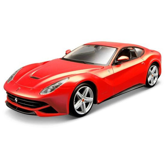 Maisto Ferrari F12 Berlinetta Assembly Line Diecast Metal Car Model Assembly Kit 1:24 - Hobbytoys - 1