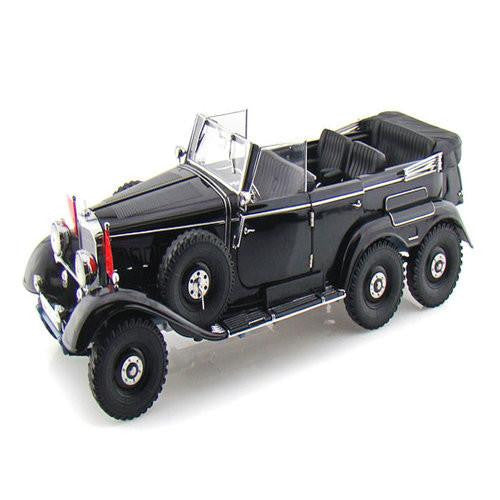 Signature Models 1938 Mercedes Benz G4 1/43 Black - Hobbytoys