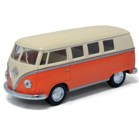 Kinsmart 1962 Volkswagen Classical Bus Orange