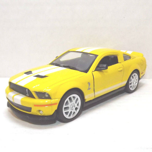 Kinsmart 2007 Ford Shelby GT500 1/38 Yellow