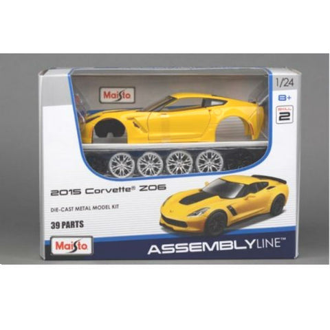 Maisto 2015 Corvette Z06 Assembly Kit - Hobbytoys - 2