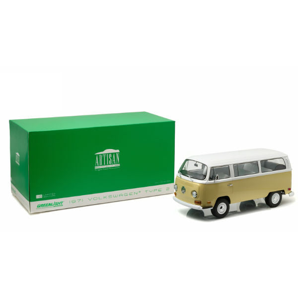 Greenlight 1971 Artisan Collection Volkswagen Type2 Bus Limited Edition 1/18 - Hobbytoys - 1