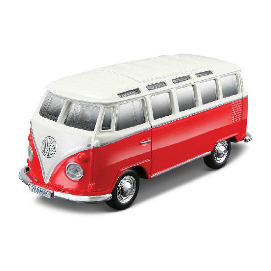 Maisto Power Kruzerz Volkswagen Van Samba Pull Back Action Car - Hobbytoys