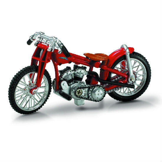 New-Ray 1933 Indian Scout Die-cast Motorcycle Model 1:32 - Hobbytoys