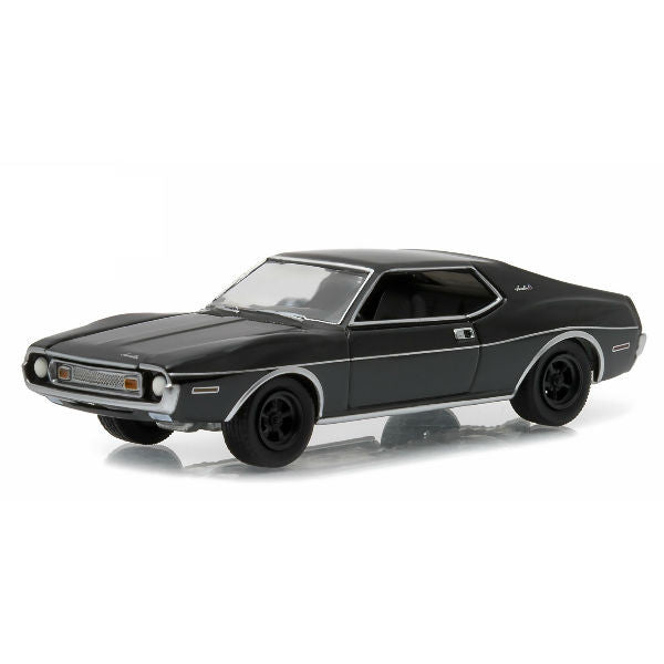 Greenlight 1973 Black Bandit Series 14 AMC Javelin 1/64 - Hobbytoys - 1