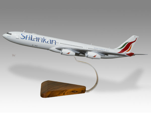 Srilankan Airlines Airbus A380 airplane