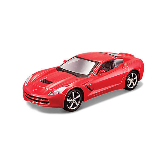 Maisto Power Kruzerz Corvette Stingray 2014 Pull Back Action Car - Hobbytoys