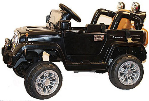 Brunte 245 SUV black colour Battery Operated Ride on