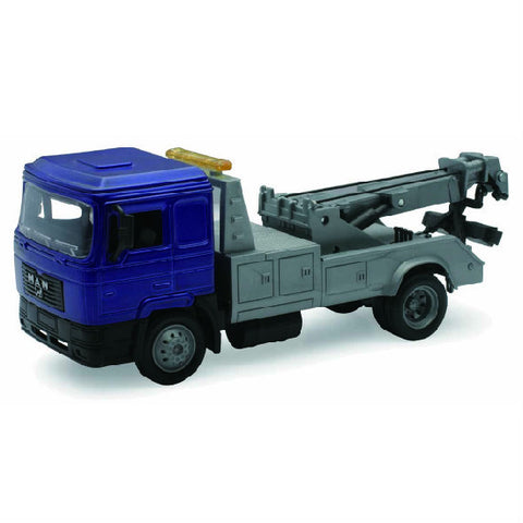 Man F2000 Towing Truck New-Ray Die-cast Truck Model 1:43 - Hobbytoys