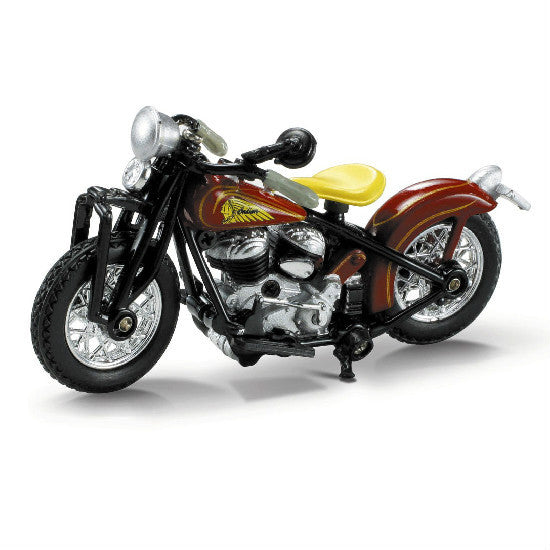 New-Ray 1940 Indian Scout Board Track Racer Die-cast Motorcycle Model 1:32 - Hobbytoys