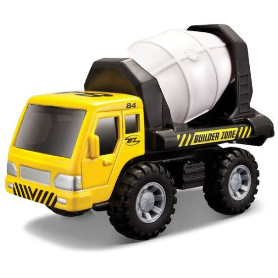 Maisto Builder Zone Cement Mixer - Hobbytoys - 1