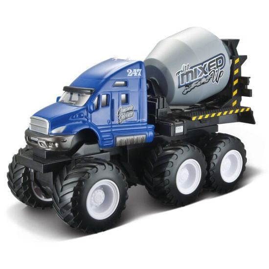 Maisto Builder Zone Quarry Monsters Cement Mixer - Hobbytoys - 1