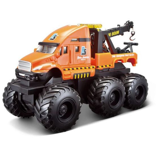 Maisto Builder Zone Quarry Monsters Tow Truck - Hobbytoys - 1