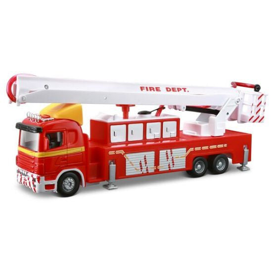 Maisto Truck Line Fire Engine Trailer - Hobbytoys