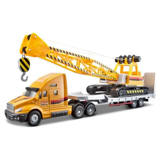 Maisto Truck Line Heavy Duty Trailer - Hobbytoys