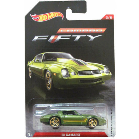 Hot Wheels Camaro Fifty 1981 Camaro