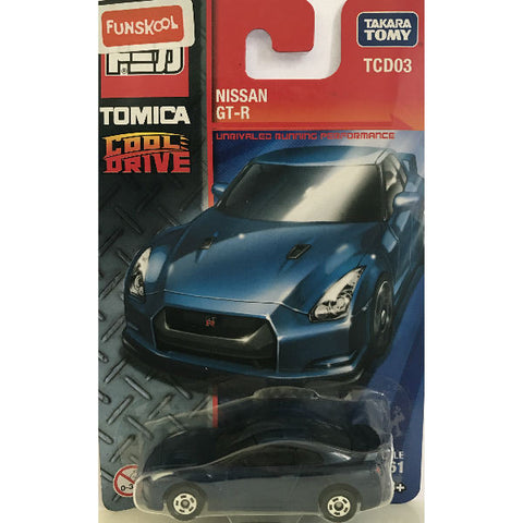 Takara Tomy Tomica Cool Drive Nissan GT-R