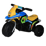 Brunte Mini Turbo 318 Blue Yellow colour Battery Operated Ride on