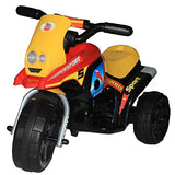 Brunte Mini Turbo 318 Yellow Red colour Battery Operated Ride on