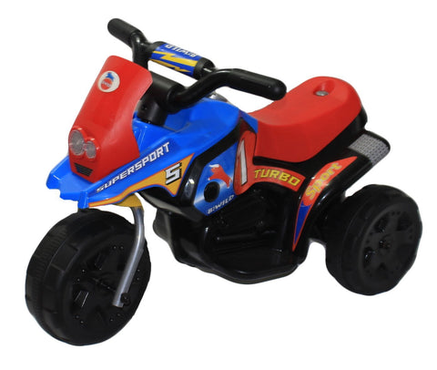 Brunte Mini Turbo 318 Blue Red colour Battery Operated Ride on