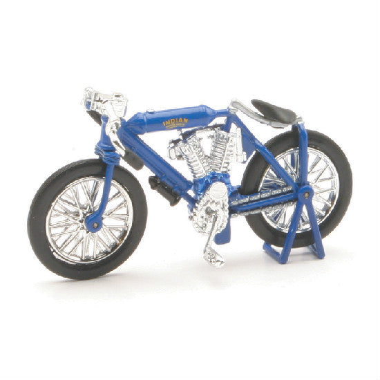 New-Ray 1908 Indian Twin Racer Die-cast Motorcycle Model 1:32 - Hobbytoys