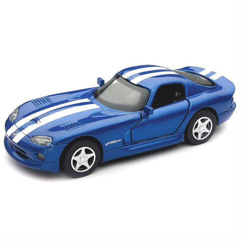 Dodge Viper GTS Coupe New-Ray City Cruiser 1:32 - Blue - Hobbytoys